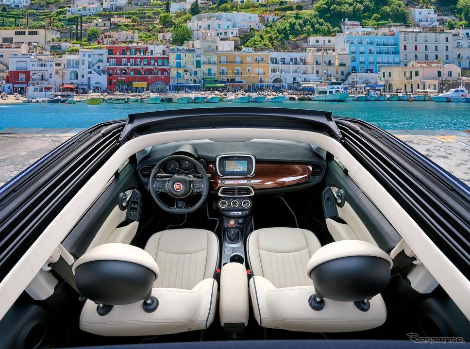 フィアット 500X ヨット の「ヨットクラブカプリ」《photo by Fiat》