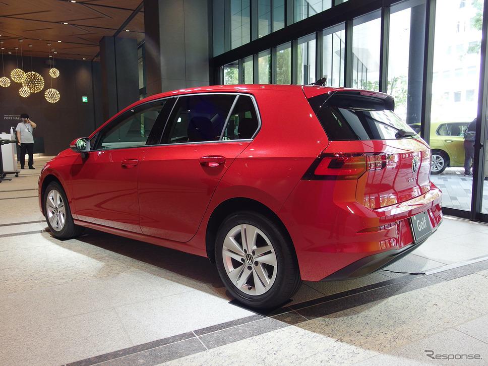 VW ゴルフ 新型《写真撮影 高木啓》