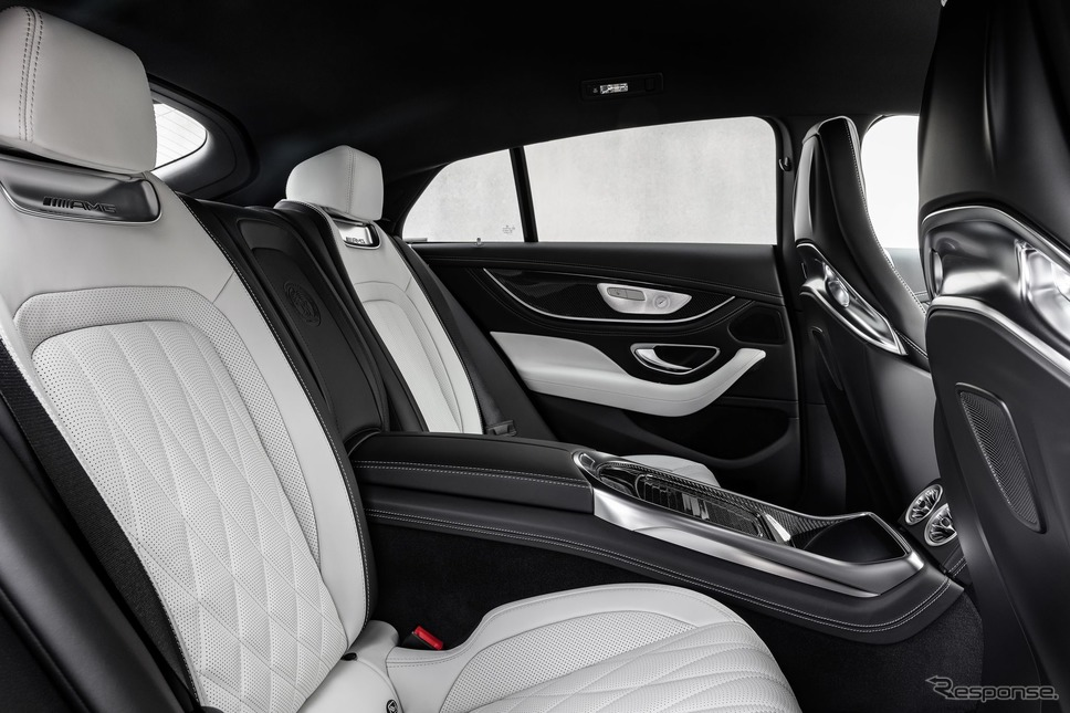 メルセデスAMG GT 4ドアクーペの「エディション2021」《photo by Mercedes-Benz》