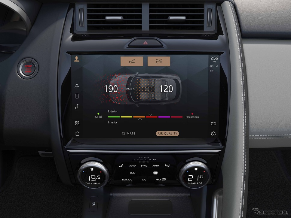ジャガー E-PACE 改良新型のPHV「P300e PHEV」《photo by Jaguar》