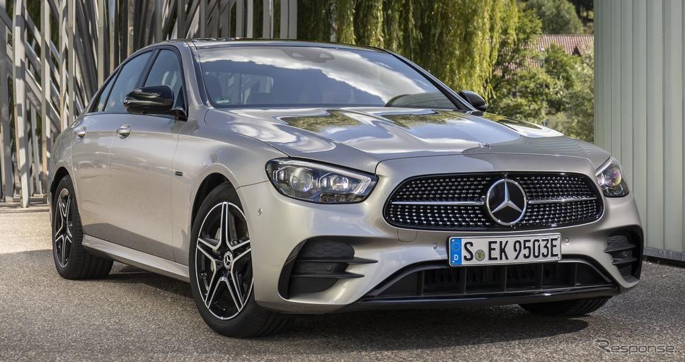 メルセデスベンツ Eクラス・セダン 改良新型のPHV「E 300 e 4MATIC」《photo by Mercedes-Benz》