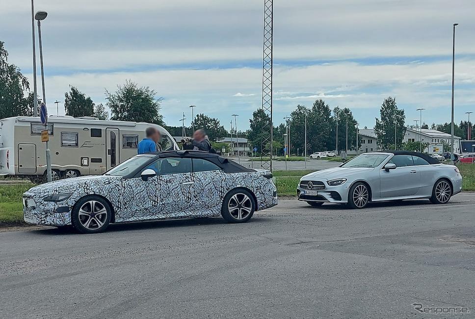 メルセデスベンツ CLEクラス と思われるプロトタイプ車両(スクープ写真)《APOLLO NEWS SERVICE》