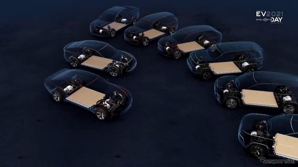 ステランティスの次世代電動車のイメージ《photo by Stellantis》