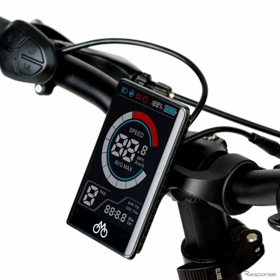 5スピードカラーディスプレイ《写真提供 TeamMate.》