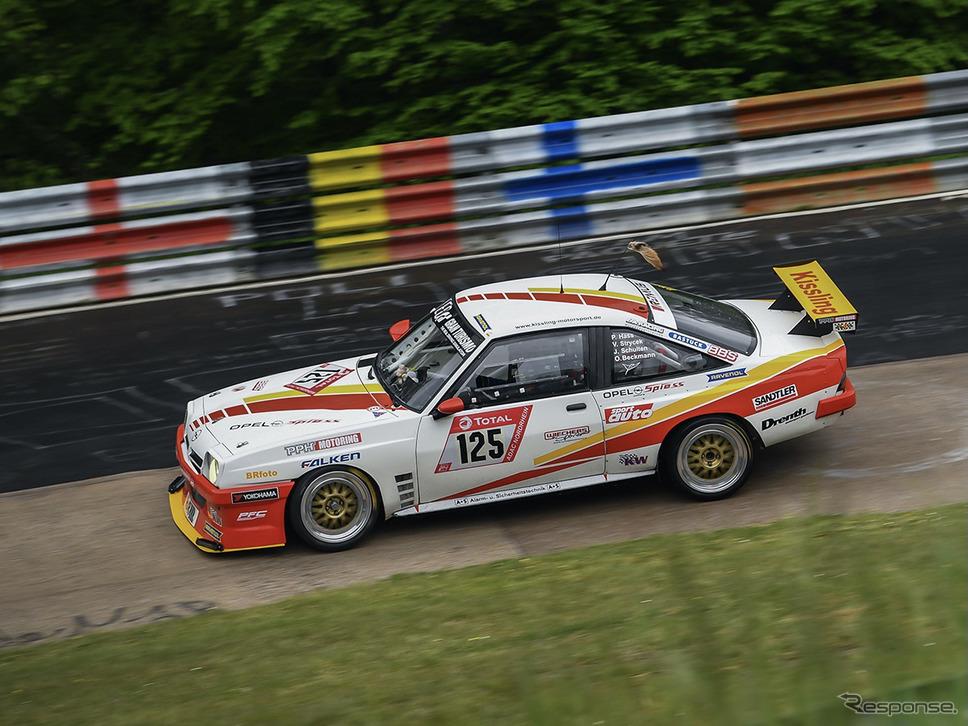 オペル・マンタB(2代目。レース仕様)《photo by Opel》