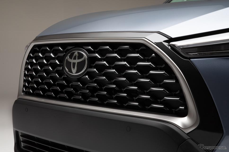 トヨタ・カローラクロス(米国仕様)《photo by Toyota》