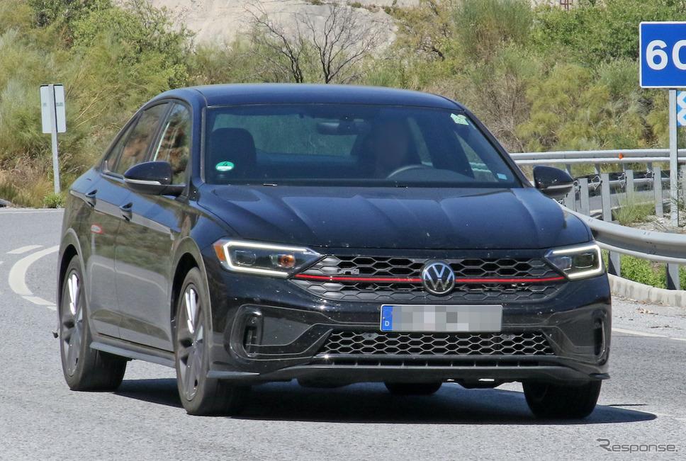 VW ジェッタGLI 改良新型プロトタイプ《APOLLO NEWS SERVICE》