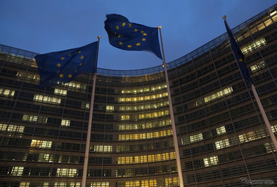 EU本部(ベルギー、ブリュッセル)《Photo by Sean Gallup/Getty Images News/ゲッティイメージズ》