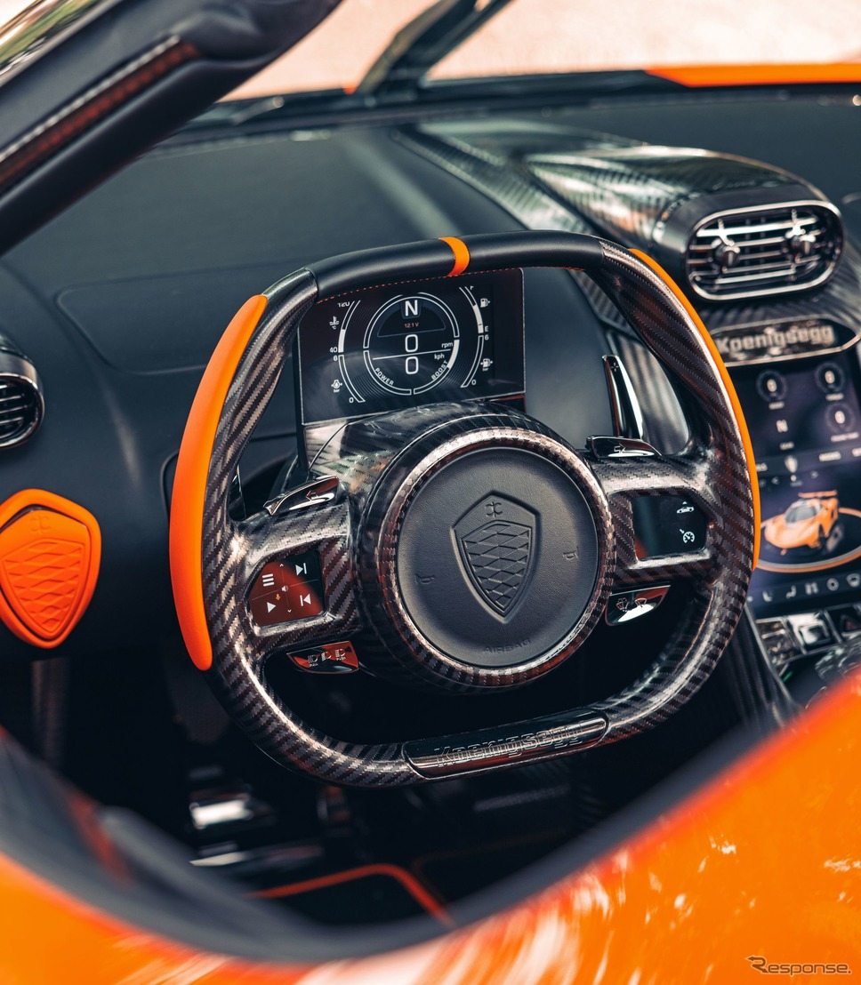 ケーニグセグ・ジェスコ の量産前のプレシリーズ生産車《photo by Koenigsegg》