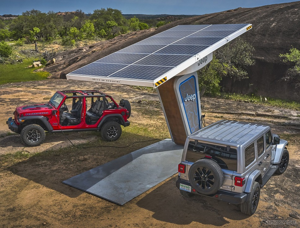 ジープの電動モデル「4xe」《photo by Jeep》