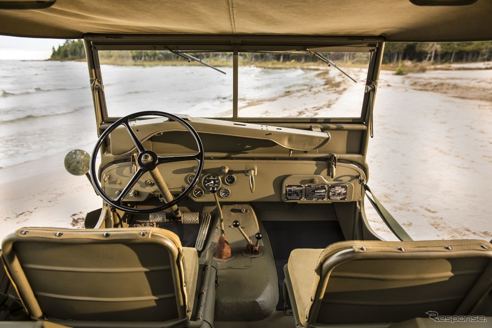 ウィリス・オーバーランド社のジープ MB(1941〜1945年)《photo by Jeep》