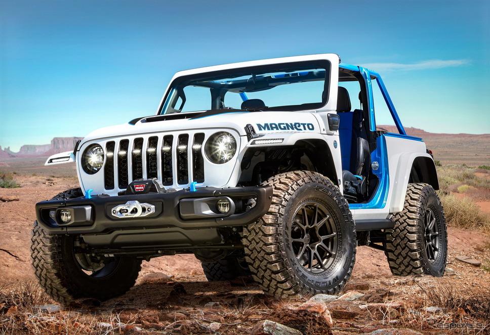 ジープ・ラングラー がベースのEVコンセプトカー「マグニートー」《photo by Jeep》