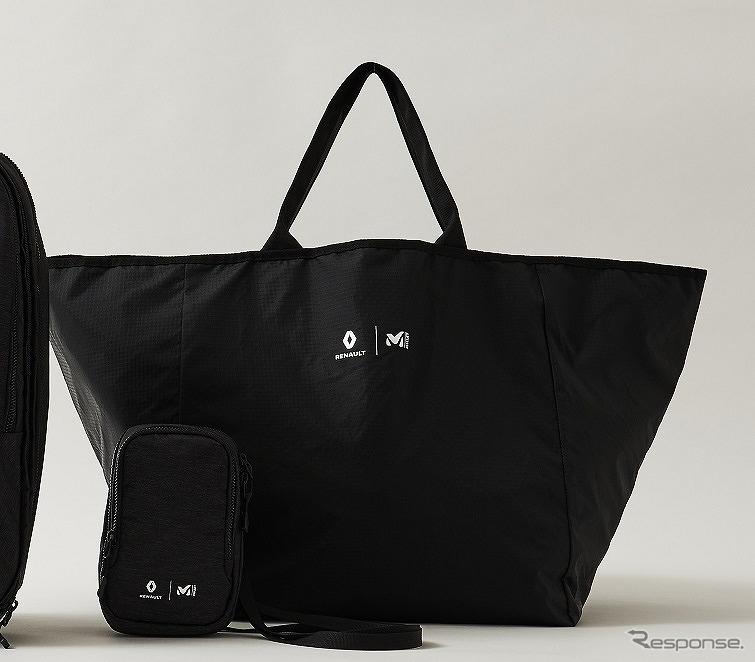 ルノー×ミレー for エディフィス コラボレーションバッグ キューブトート(5300円)《写真提供 ルノー・ジャポン》