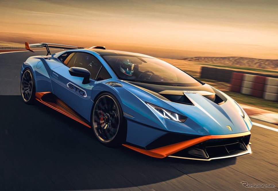 ランボルギーニ ・ウラカンSTO《Photo by Lamborghini》