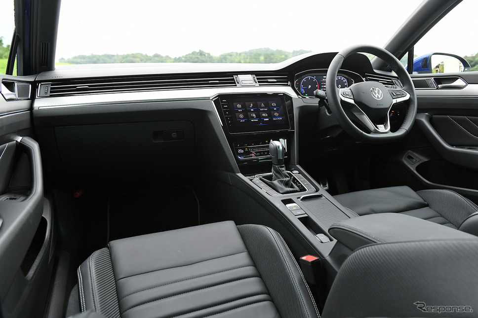 VW パサートヴァリアント 新型(TDI R-Line)《写真撮影 中野英幸》