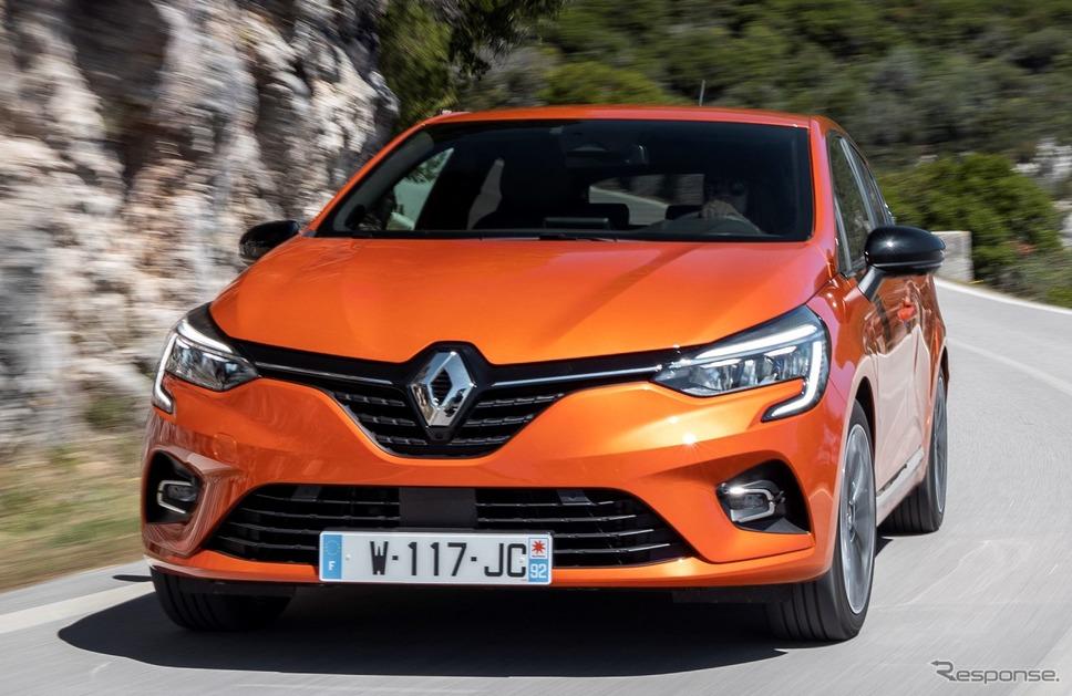 ルノー・クリオ(日本名:ルーテシアに相当)《photo by Renault》