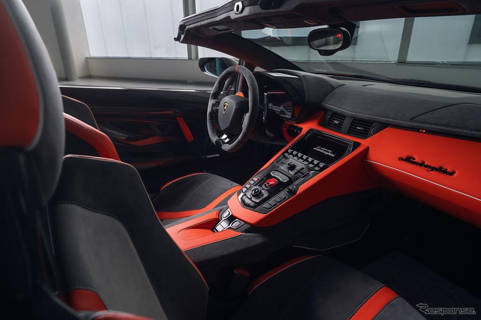 ランボルギーニ・アヴェンタドール SVJ 63 ロードスター(参考)《photo by Lamborghini》