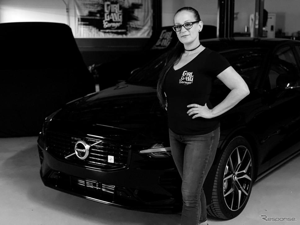 ボルボ S60 のPHVとワンオフモデル製作プロジェクトのリーダー、ボグ・レイティナーさん《photo by Volvo Cars》