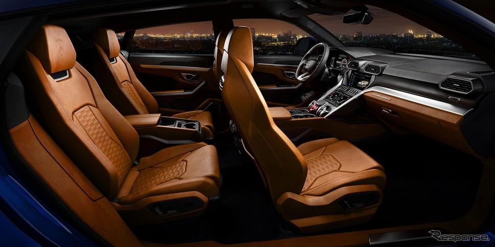 ランボルギーニ・ ウルス《Photo by Lamborghini》