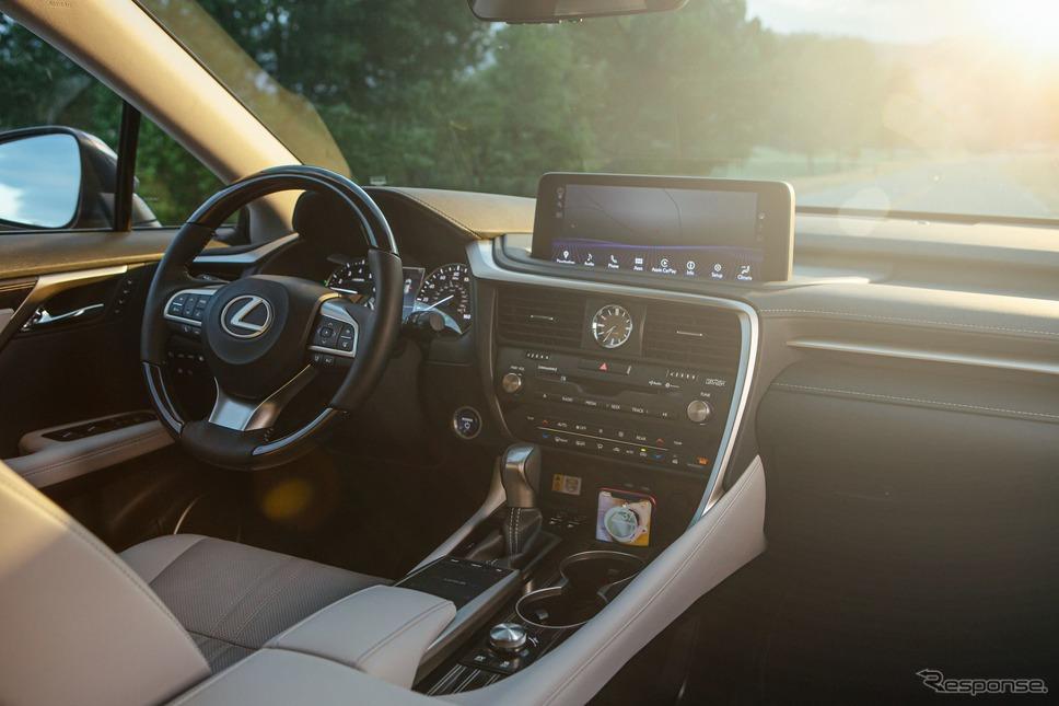 レクサス RX450hL の2022年モデル(米国仕様)《photo by Lexus》