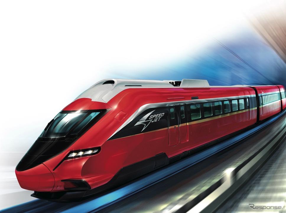 プラレール鉄道:スピードジェット《画像提供 京成電鉄》