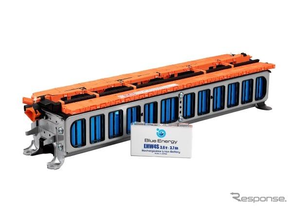 GSユアサの車載用リチウムイオン電池(参考画像)《写真提供 GSユアサ》