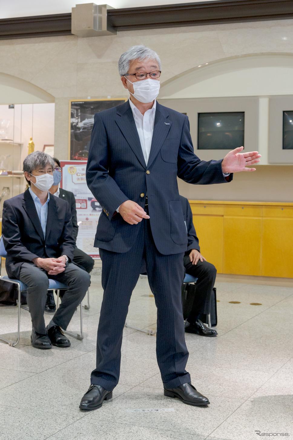 株式会社トヨタレンタリース横浜常務取締役 林良和氏。《写真撮影 関口敬文》