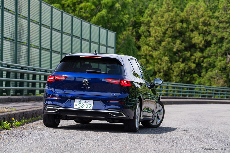 VW ゴルフ 新型(eTSI スタイル)《写真撮影 土屋勇人》