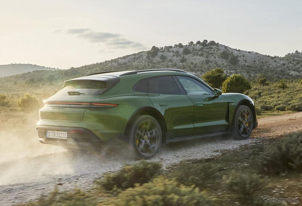 ポルシェ・タイカン・クロスツーリスモ《photo by Porsche》