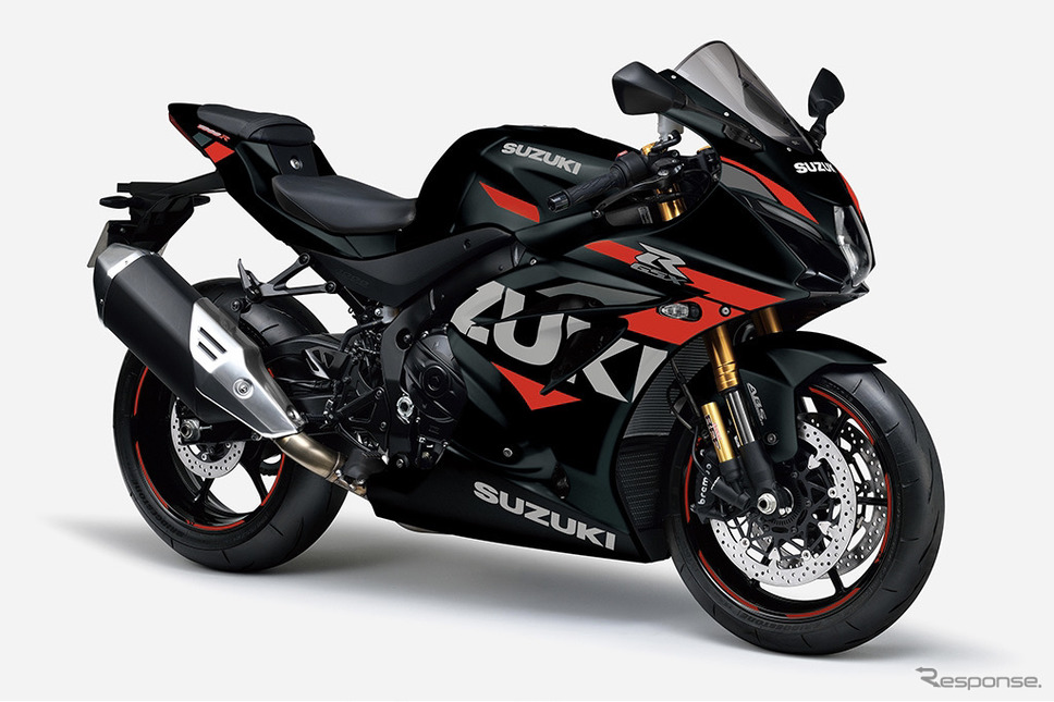 スズキGSX-R1000R ABS:マットブラックメタリックNo. 2《写真提供 スズキ》