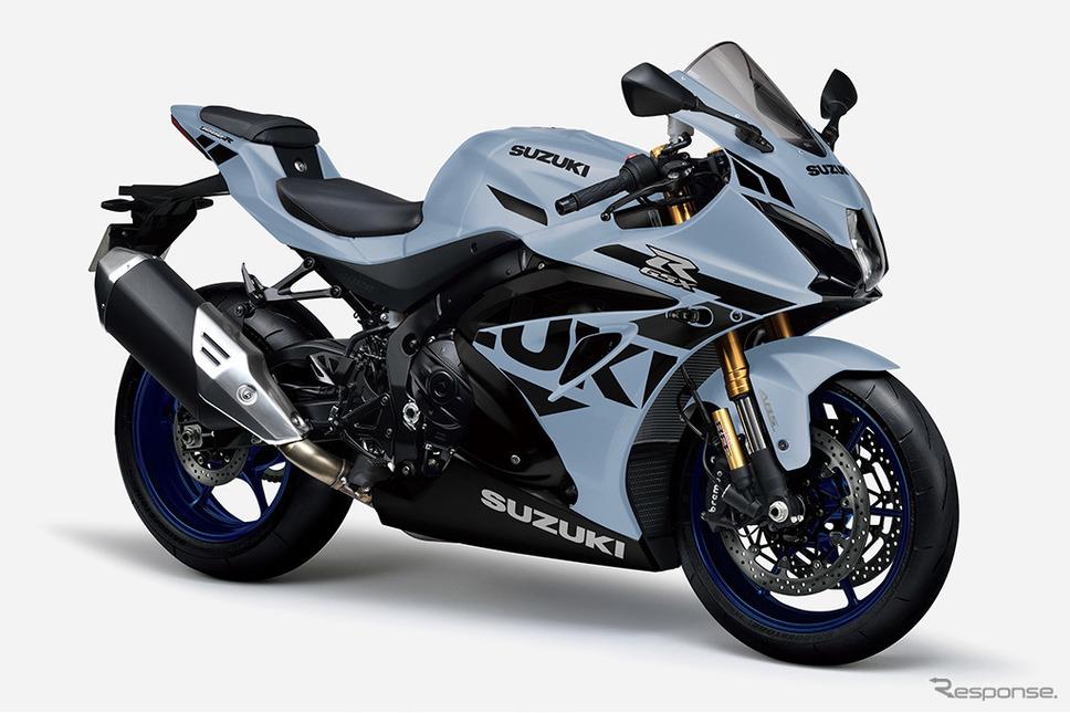 スズキGSX-R1000R ABS:マットブラックメタリックNo. 2/グラスマットメカニカルグレー《写真提供 スズキ》
