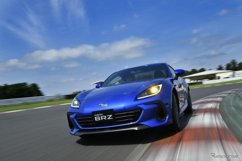 スバルBRZ新型《写真提供 トヨタGAZOOレーシング / スバル》
