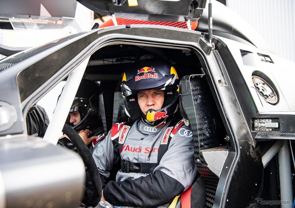 マティアス・エクストローム(RS Q e-tronのドライバー)《Photo by Audi》