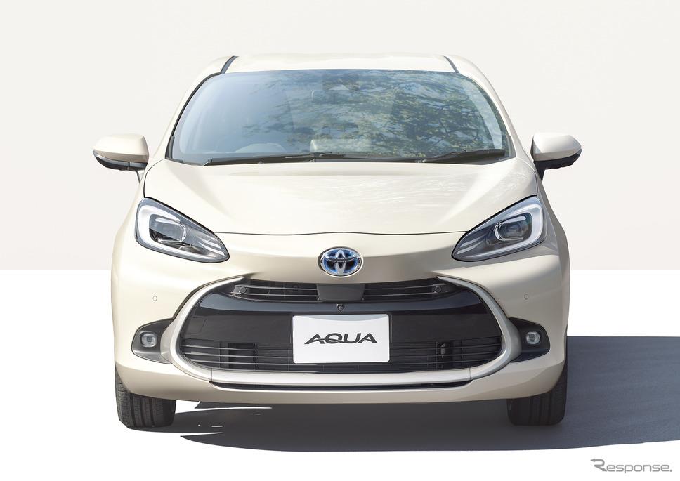 トヨタ・アクア新型、Z、2WD、クリアベージュメタリック、オプション装着車《写真提供 トヨタ自動車》