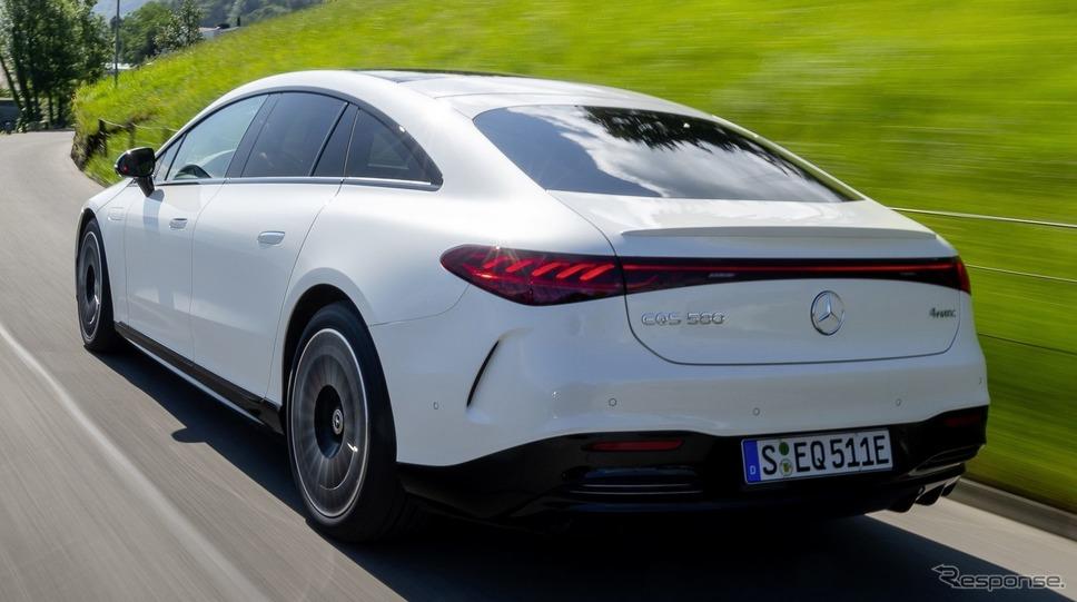メルセデスベンツ EQS の「AMGライン」《photo by Mercedes-Benz》