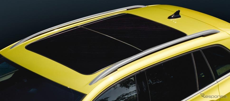 VW ゴルフ バリアント 電動パノラマスライディングルーフ《写真提供 フォルクスワーゲン グループ ジャパン》