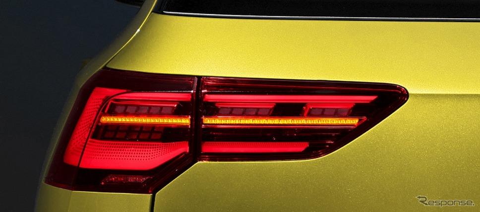 VW ゴルフ バリアント LEDテールランプ《写真提供 フォルクスワーゲン グループ ジャパン》