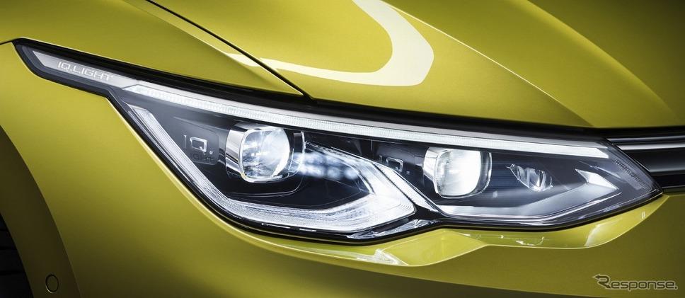 VW ゴルフ バリアント LEDマトリックスヘッドライト《写真提供 フォルクスワーゲン グループ ジャパン》