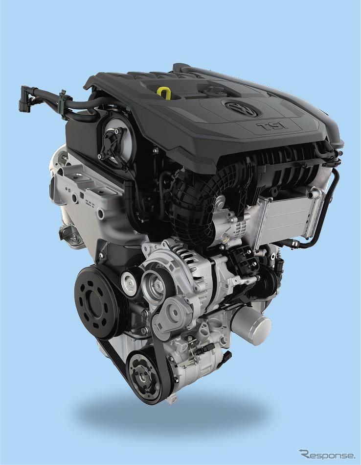 VW ゴルフ バリアント 1.5リットル eTSIエンジン《写真提供 フォルクスワーゲン グループ ジャパン》