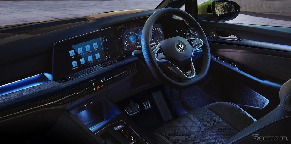 VW ゴルフ バリアント インテリアアンビエントライト(カラー調整機能付)《写真提供 フォルクスワーゲン グループ ジャパン》