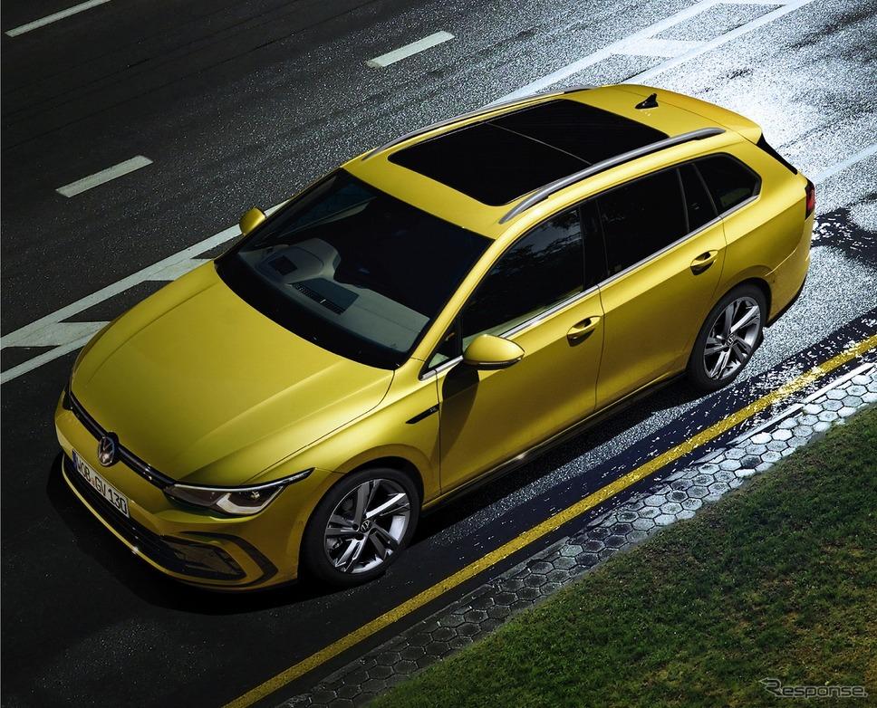 VW ゴルフ バリアント eTSI R-ライン《写真提供 フォルクスワーゲン グループ ジャパン》