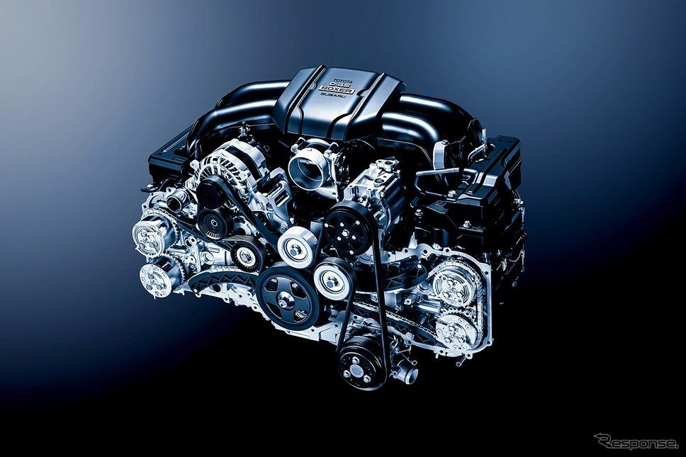 新開発2.4L BOXER D-4Sエンジン [FA24]《写真提供 SUBARU》