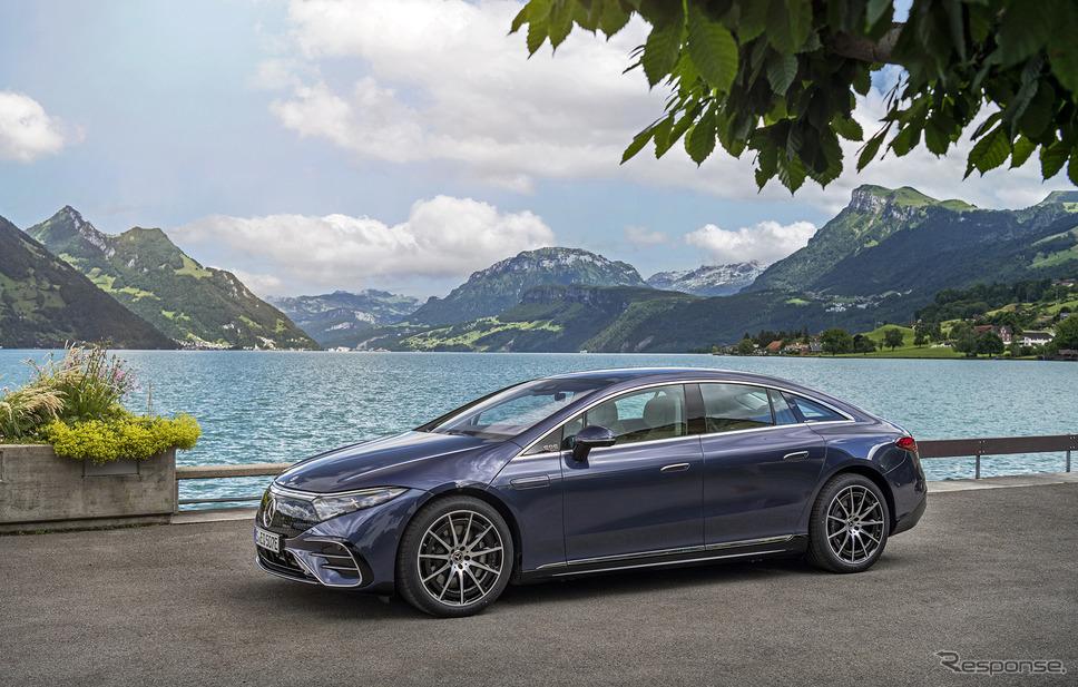 メルセデスベンツ EQS 450+《photo by Mercedes-Benz》