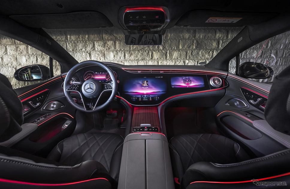 メルセデスベンツ EQS 580《photo by Mercedes-Benz》