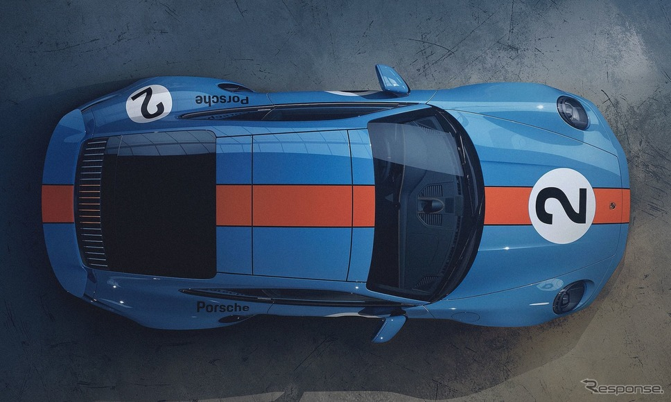 ポルシェ 911 ターボS 新型のワンオフモデル《photo by Porsche》