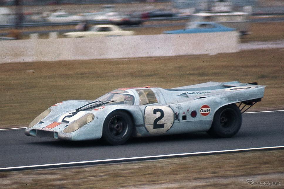 1971年デイトナ24時間のポルシェ917K(ロドリゲス、オリバー組)《Photo by ISC Images & Archives via Getty Images/ゲッティイメージズ》