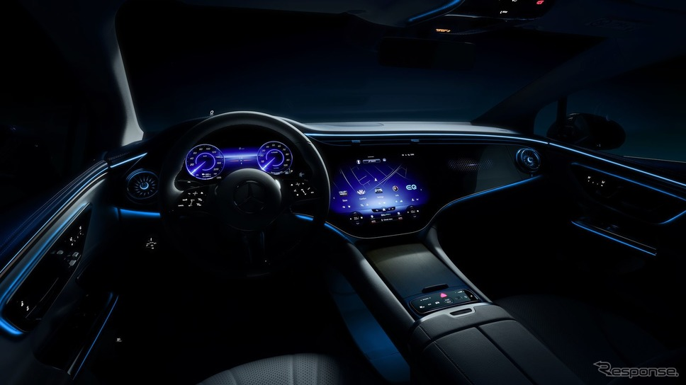 メルセデスベンツ EQE《photo by Mercedes-Benz》