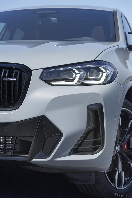 BMW X4 改良新型の「M40i」《photo by BMW》