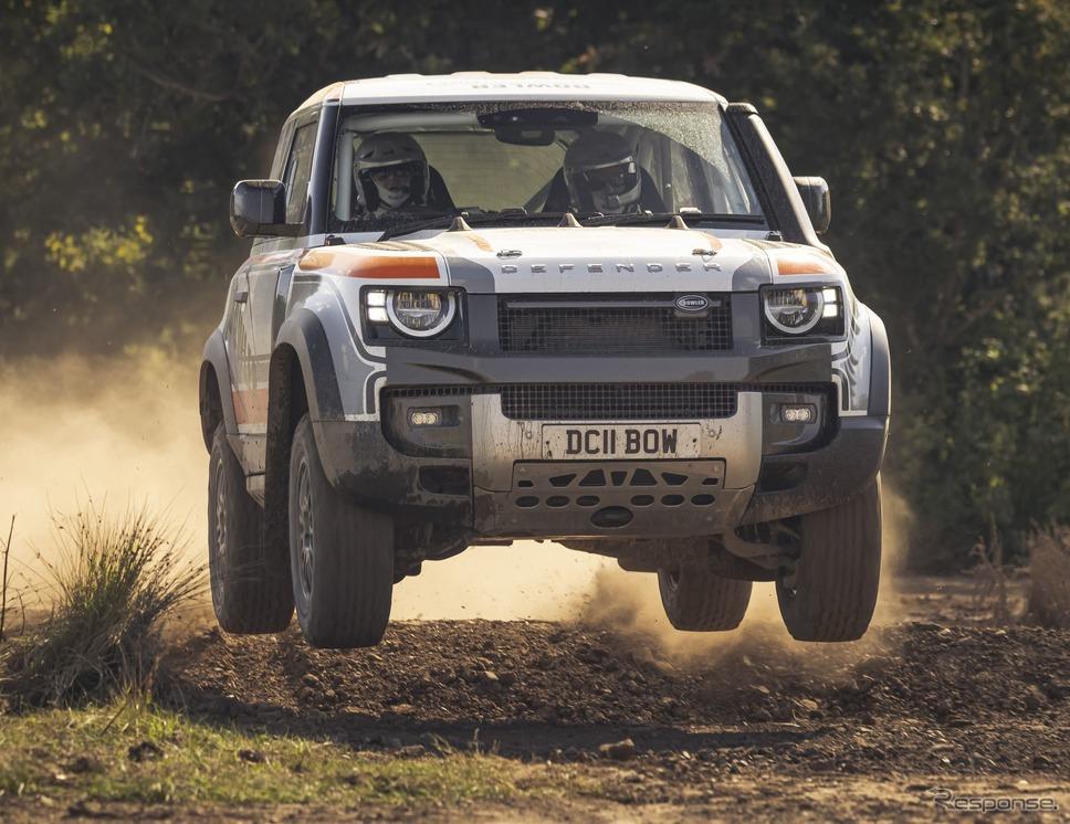 ランドローバー・ディフェンダー 新型の「ボウラー・ディフェンダー・チャレンジ」参戦ラリーカー《photo by Land Rover》