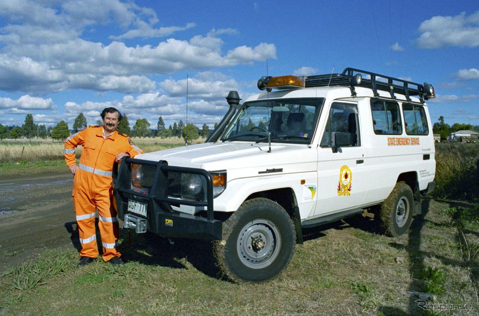 2003年:トヨタ・ランドクルーザー(オーストラリア)《photo by Toyota》
